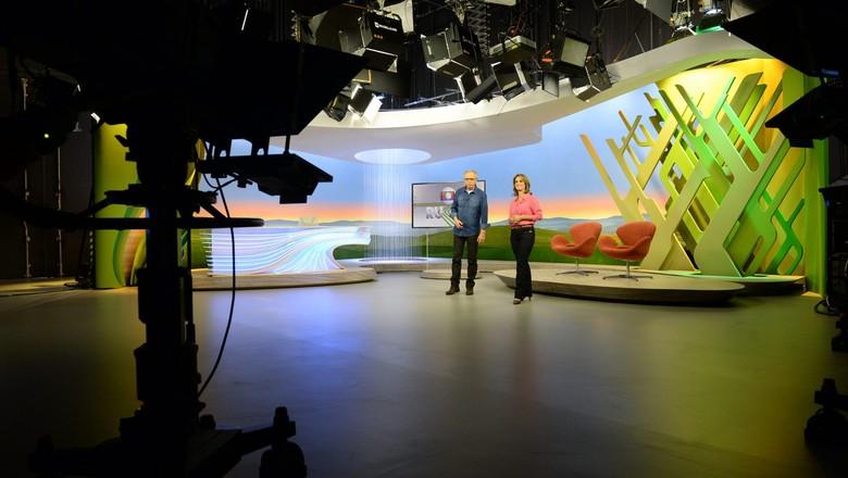 estudio-programa-globo-rural (Foto: Zé Paulo Cardeal/Globo Rural)