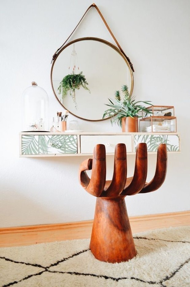 Espelho redondo: 7 ambientes para se inspirar (Foto: Diulgação)