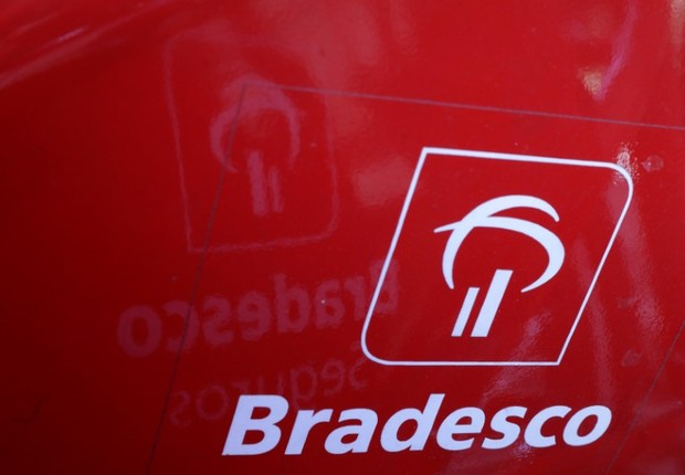Logomarca do Banco Bradesco  (Foto: Paulo Whitaker/Reuters)