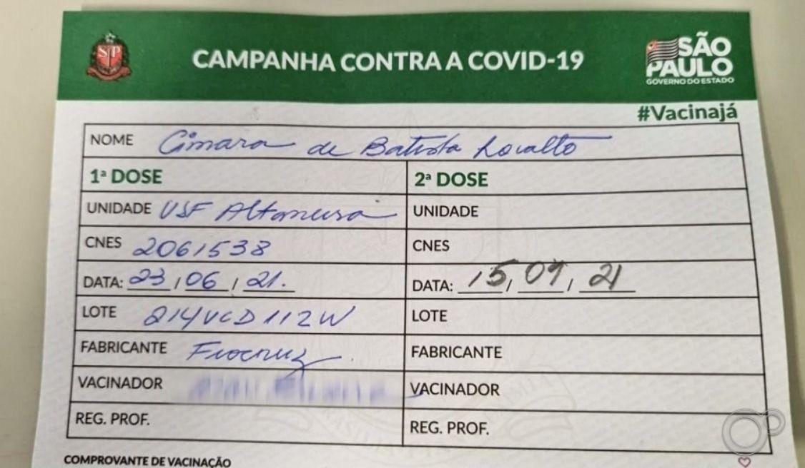 Moradores de Marília são imunizados contra gripe por engano em vez de receber vacina da Covid-19