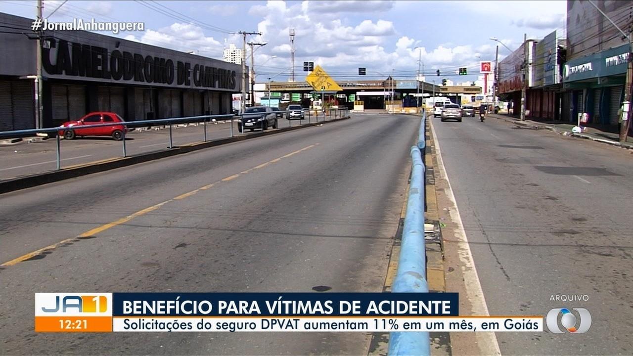Aumenta o número de pedidos de Seguro Dpvat, em Goiás