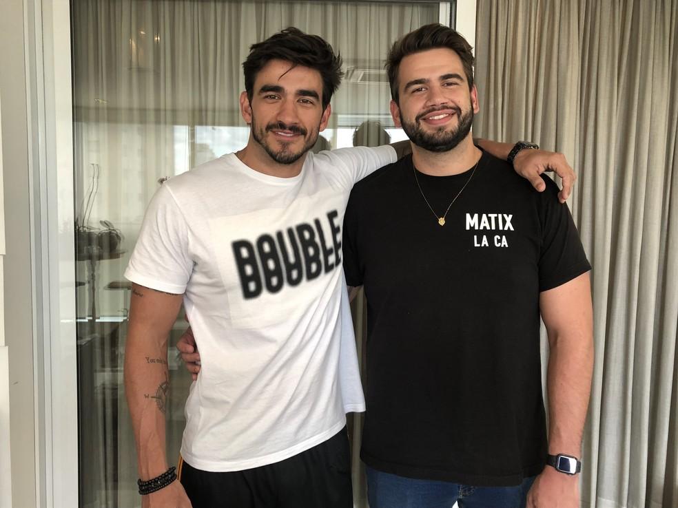 Irmão gêmeo de Guilherme diz que Líder vai usar o lado emocional para a indicação  — Foto: Ariane Ducati/Gshow