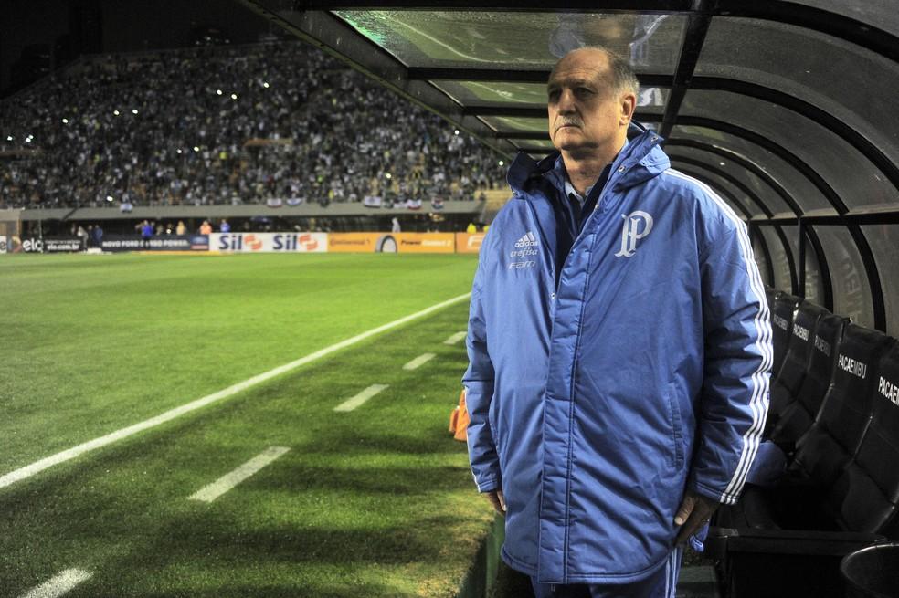Felipão ainda não sofreu nenhum gol em seu retorno ao Palmeiras (Foto: Marcos Ribolli)