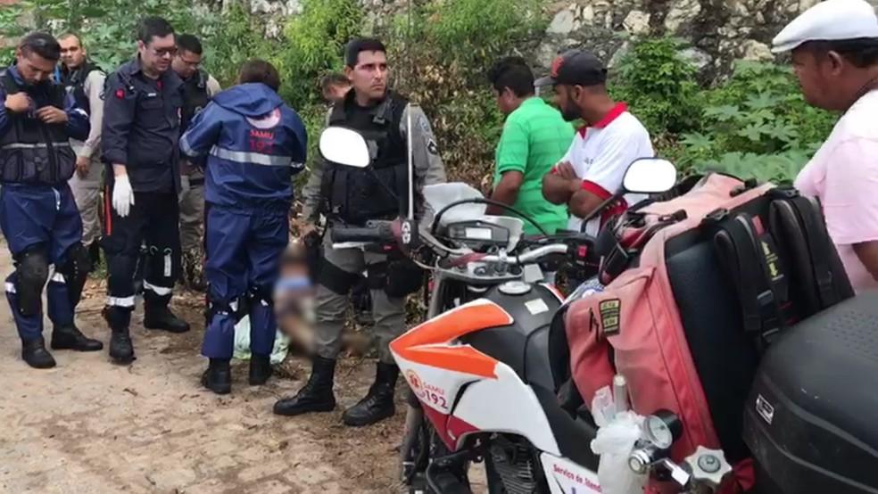 Homem foi morto com pelo menos 10 tiros em João Pessoa, diz Samu (Foto: Walter Paparazzo/G1)