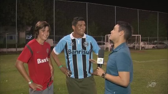 """Grenal de Bombacha"" no Ceará reúne ex-jogadores de Grêmio e Internacional"