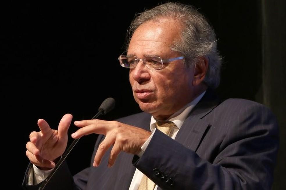 O ministro da Economia, Paulo Guedes — Foto: Wilson Dias/Agência Brasil