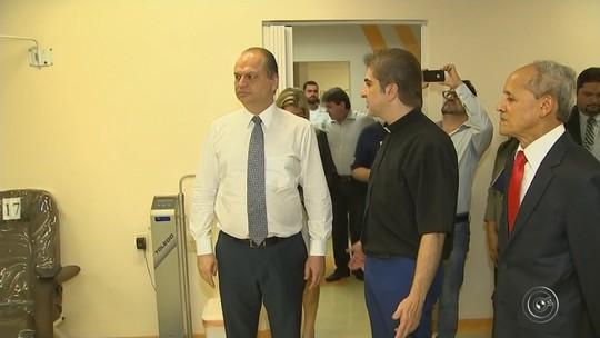 Ministro da Saúde visita Santa Casa de Sorocaba