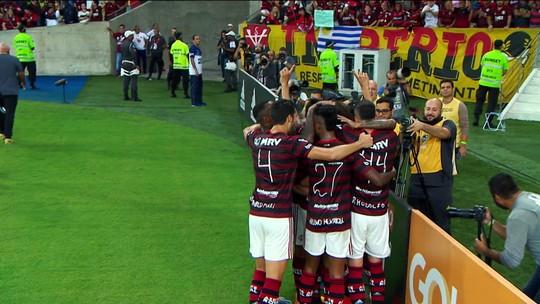 Mesmo com desfalques, Flamengo vence mais uma e abre oito pontos de vantagem no Brasileirão