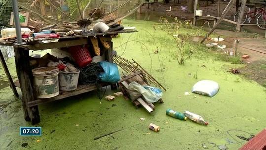 Bombas instaladas após desastre no Rio Doce não resolvem alagamentos causados por lagoa no Norte do ES