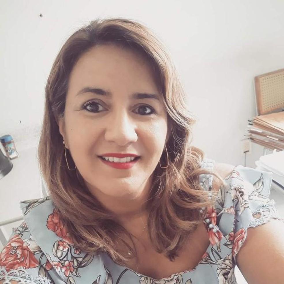 Jornaista Karina Araújo morre aos 48 anos por Covid-19, na Parai´ba — Foto: Reprodução/WhatsApp