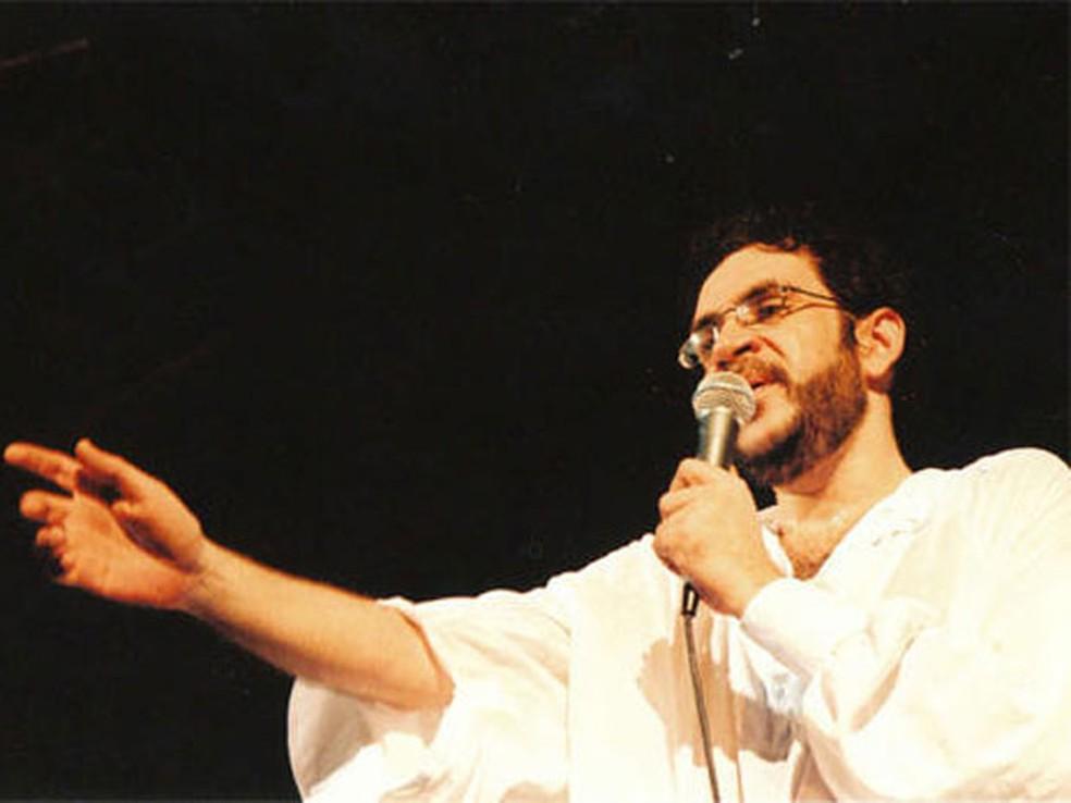 Renato Russo, cantor e líder da Legião Urbana, morto em 1996 — Foto: Divulgação