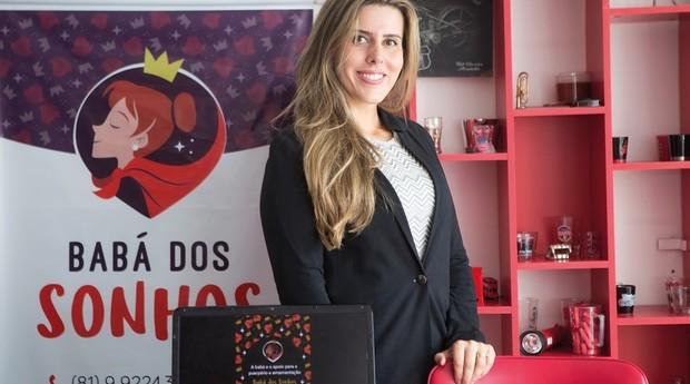 Michele Almeida, fundadora do Babá dos Sonhos (Foto: Divulgação)