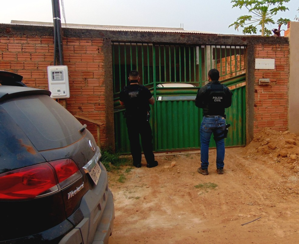 Operação da Polícia Civil foi realizada em quatro cidades de RO — Foto: Polícia Civil/Divulgação