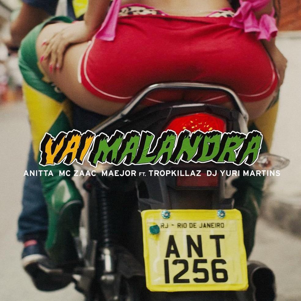 Capa do single Vai malandra, de Anitta (Foto: Divulgação)