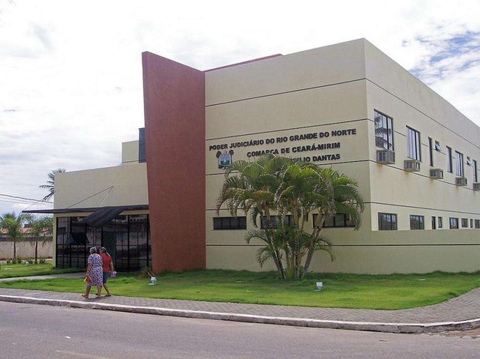 Fórum de Ceará-Mirim (Foto: Divulgação/TJRN)