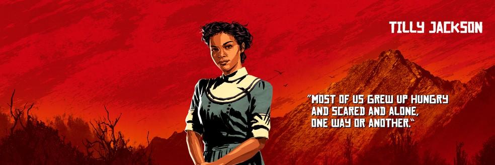 Tilly Jackson, de Red Dead Redemption 2 — Foto: Divulgação/Rockstar