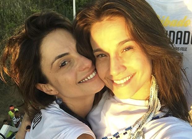 Fernanda Gentil e Priscila Montandon (Foto: Instagram/Reprodução)