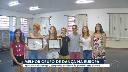 Após título em Portugal, companhia de dança do Pantanal de MS está de volta