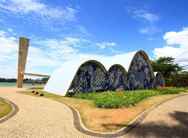 O Conjunto Moderno da Pampulha tem construções de Oscar Niemeyer (Foto: Aglaia Oliveira e UNESCO/ Reprodução)