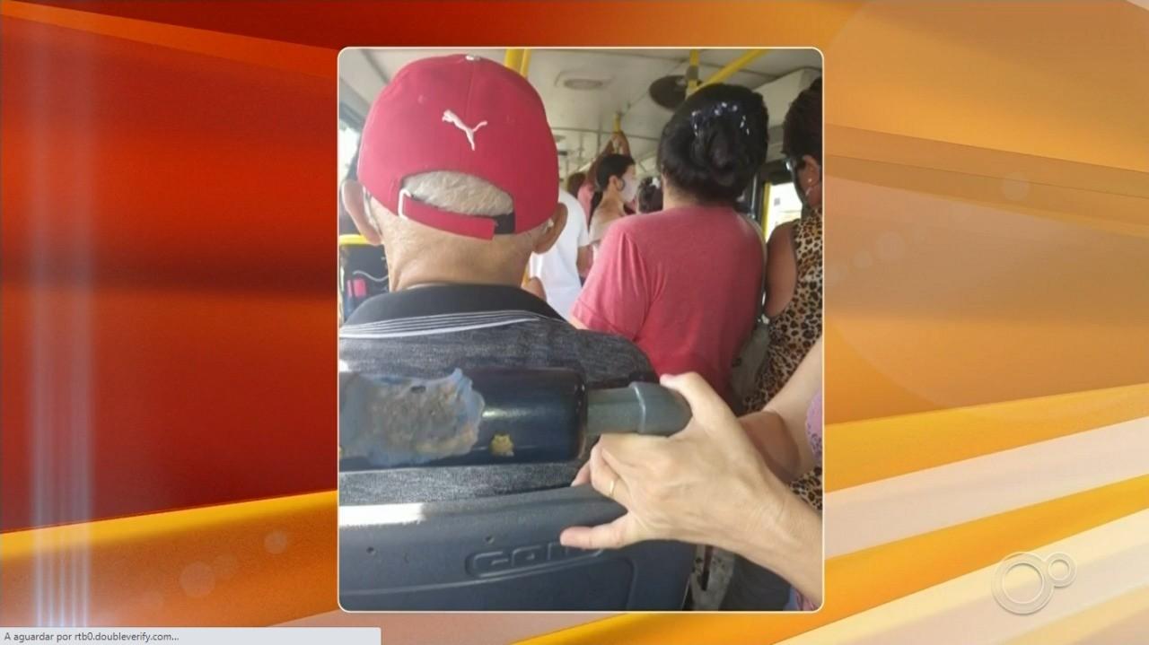 Passageiros reclamam de lotação no transporte público de Jundiaí