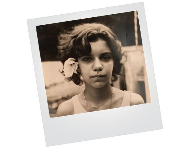 Astrid Fontenelle quanto tinha 10 anos (Foto: Arquivo pessoal)