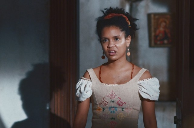 Heslaine Vieira é Zayla em 'Nos tempos do Imperador' (Foto: TV Globo)