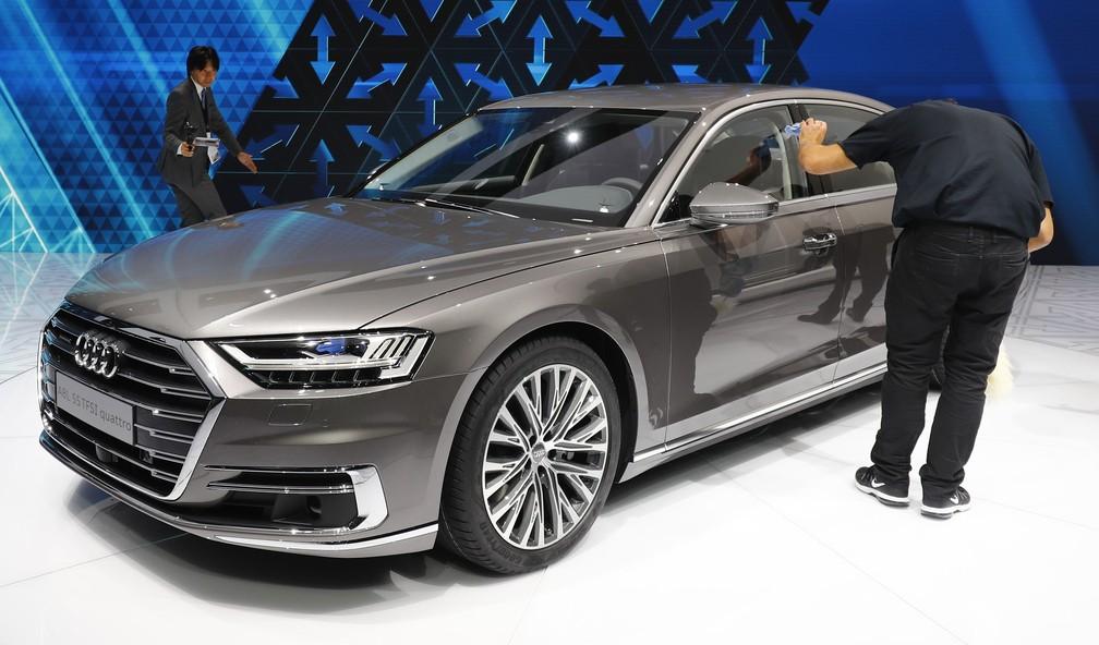 Audi A8 (Foto: REUTERS/Kai Pfaffenbach)