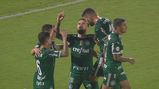 Veja reações da torcida do Palmeiras com grande atuação de Gabriel Veron em goleada