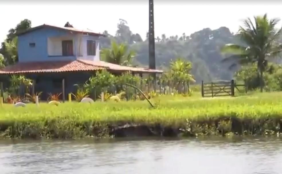 Porto Seguro é a única cidade do nordeste selecionada para participar de projeto de incentivo ao turismo rural — Foto: Reprodução/TV Santa Cruz
