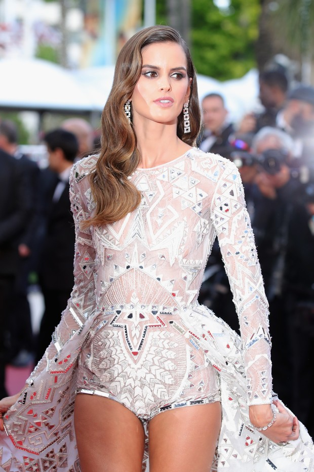 "CANNES, FRANCE - MAY 13:  Izabel Goulart attends the screening of ""Sink Or Swim (Le Grand Bain)"" during the 71st annual Cannes Film Festival at Palais des Festivals on May 13, 2018 in Cannes, France.  (Photo by Andreas Rentz/Getty Images) (Foto: Getty Images)"