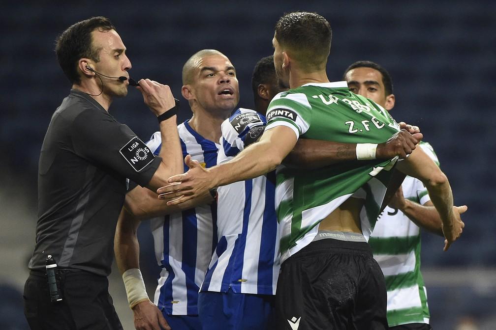Sporting Segura Porto Segue Invicto E Com 10 Pontos De Vantagem Na Lideranca Futebol Portugues Ge