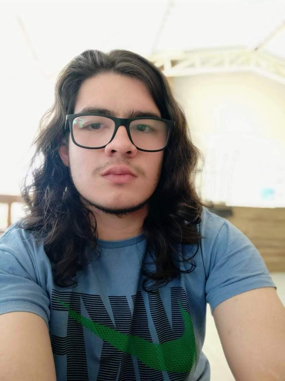 Matheus dos Anjos está confiante que conseguirá vaga na UTFPR — Foto: Arquivo Pessoal