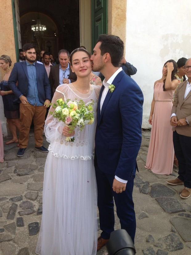 Bruna Faria e Felipe Faria (Foto: Reprodução)