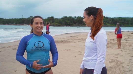 Surfista conta por que largou tudo em São Paulo para viver em Itacaré