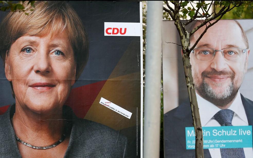Propaganda nas proximidades dos postos eleitorais é proibida (Foto: Reuters/Fabrizio Bensch)
