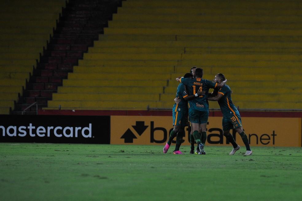 Fluminense saiu mentalmente fortalecido de Guayaquil — Foto: Staff Images / Conmebol