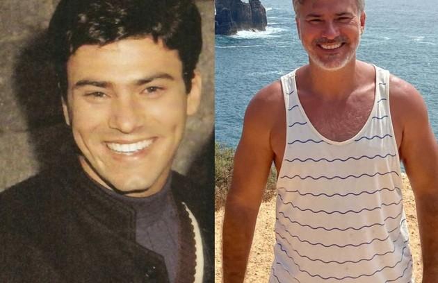 Leonardo Vieira foi Lucas, jovem rico que se envolvia com Claudia. Hoje, o ator vive em Portugal, onde se dedica ao teatro (Foto: TV Globo / Reprodução)