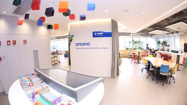 Novo Centro de Experiências Científicas e Digitais da BASF, chamado de Onono  (Foto: Divulgação)