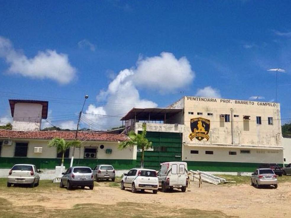 Penitenciária Barreto Campelo, Grande Recife — Foto: Kety Marinho/TV Globo