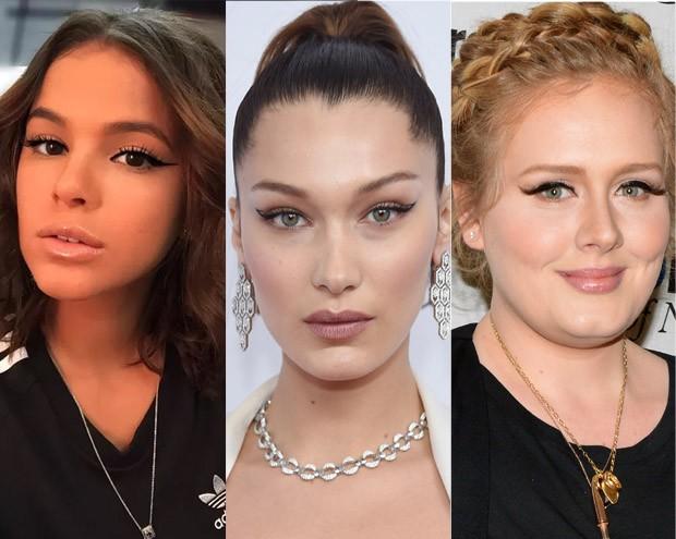 Bruna Marquezine, Bella Hadid e Adele são fãs do gatinho (Foto: Getty Images)