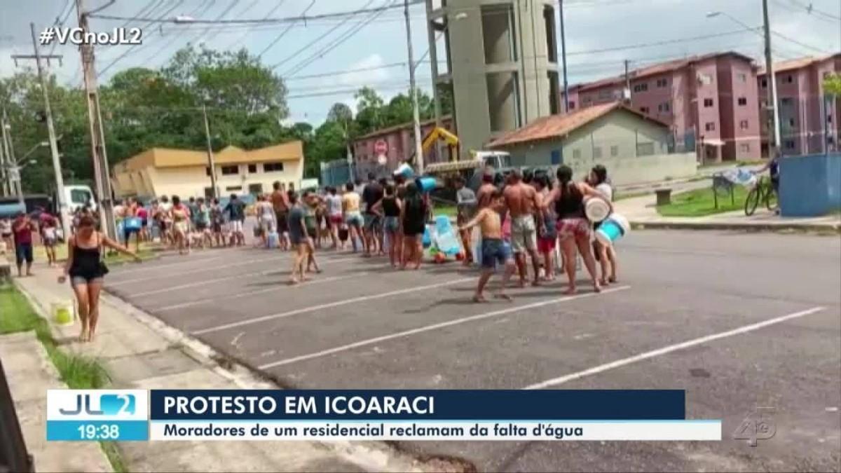 Moradores denunciam constante falta de água em residencial de Icoaraci