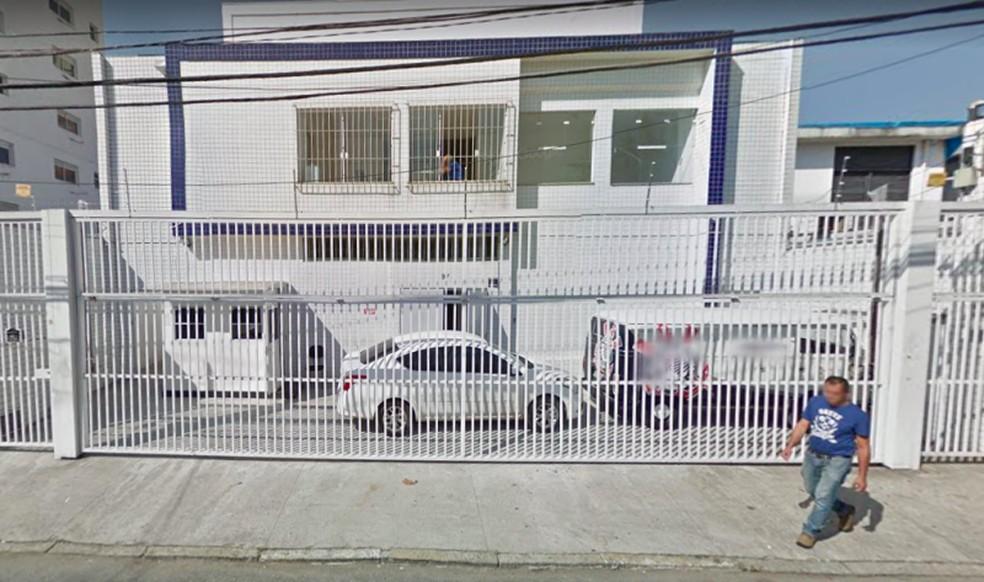 Alojamento das categorias de base do Corinthians — Foto: Reprodução / Google Maps