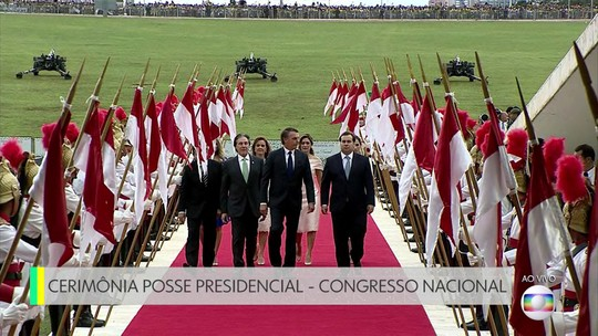 Presidente e vice eleitos se encontram com presidentes da Câmara e do Senado