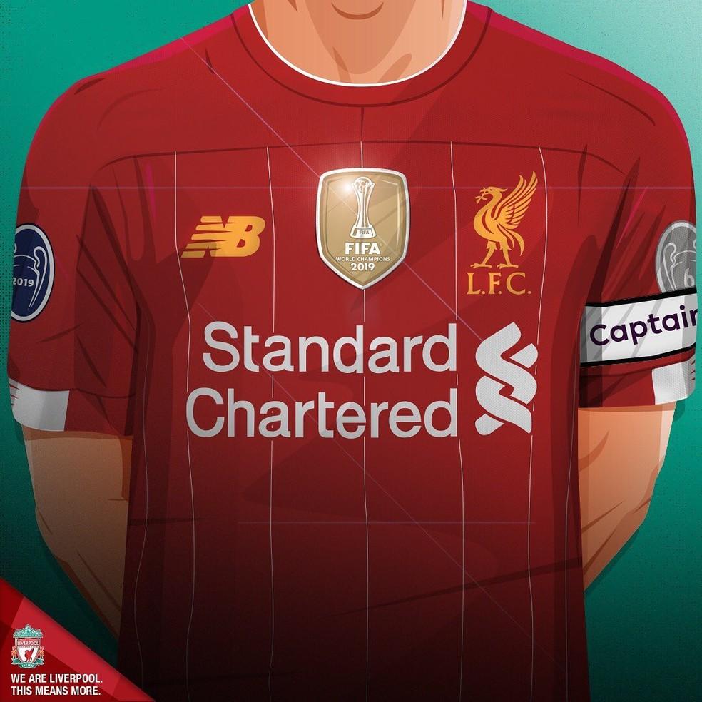 Liverpool Confirma Uso De Brasao De Campeao Mundial Em Apenas Um Jogo Da Premier League Futebol Ingles Ge