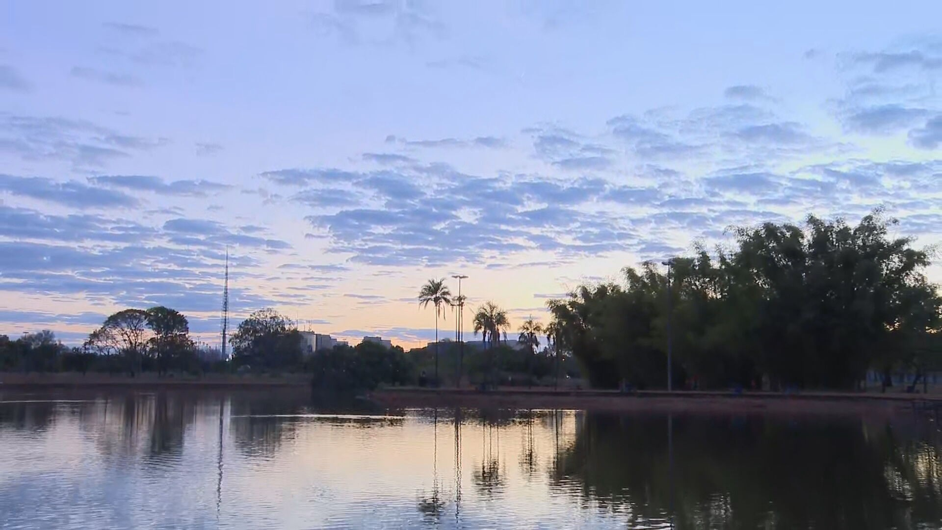 Inmet prevê possibilidade de chuva no DF durante fim de semana