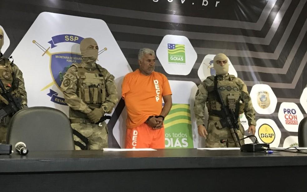 Homem considerado o maior estuprador em série de Goiás é preso suspeito de 47 abusos — Foto: Vitor Santana/G1