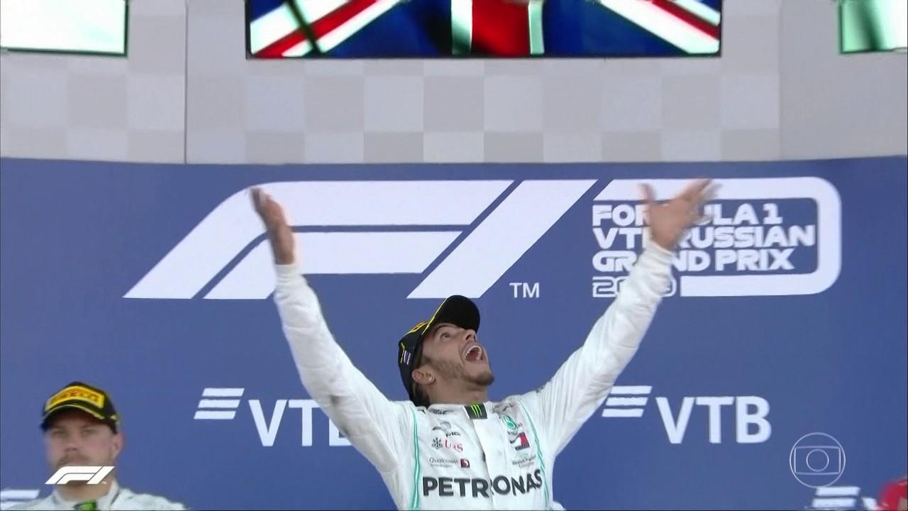 GP da Rússia deste domingo (27) pode ser histórico para Lewis Hamilton
