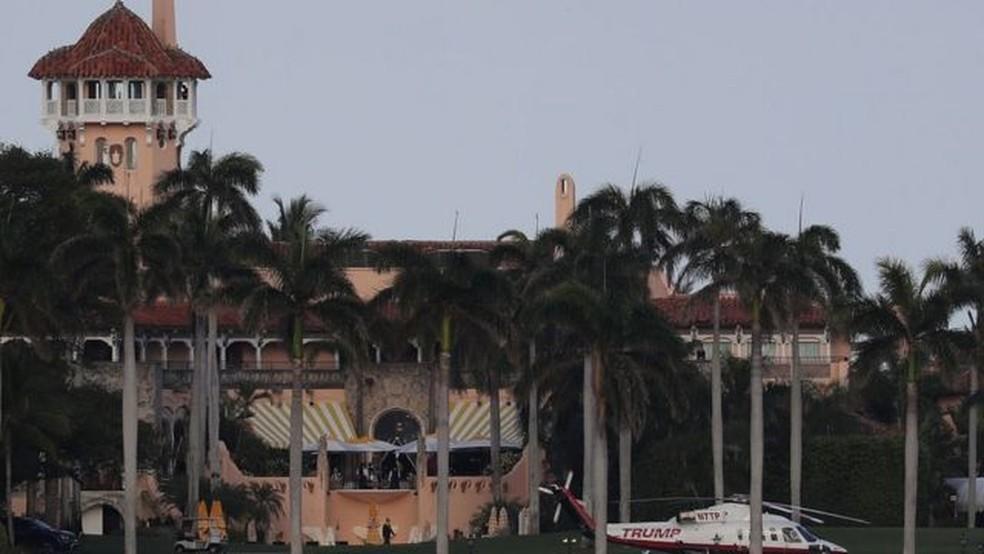 Donald Trump comprou Mar-a-Lago em 1985 por US$ 10 milhões — Foto: Getty Images