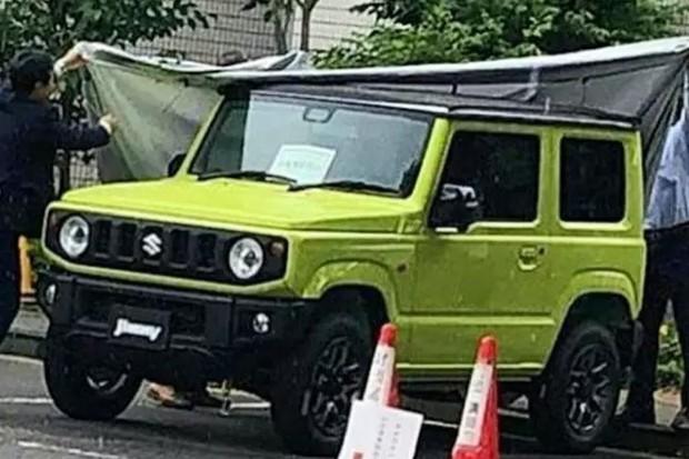 Novo Suzuki Jimny vaza em flagra no Japão (Foto: Reprodução)