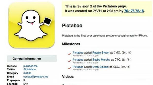 Snapchat também teve seu nome trocado por questões de direitos autorais (Foto: Divulgação)